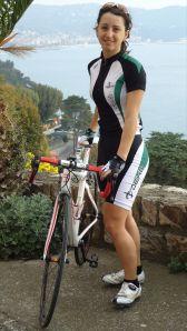 Rossella Ratto in Deko Cycling Clothing