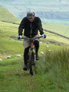 Mountain Bike in Wensleydale