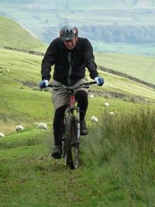 Mountain Bike in Wensleydale