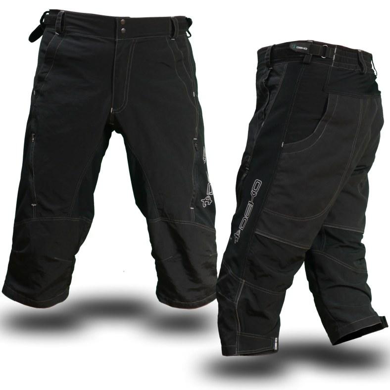Nine O'Ones 3/4 Length MTB Shorts