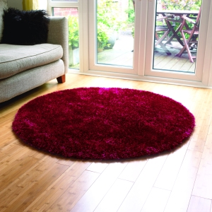 A Round Rug sets the Scene